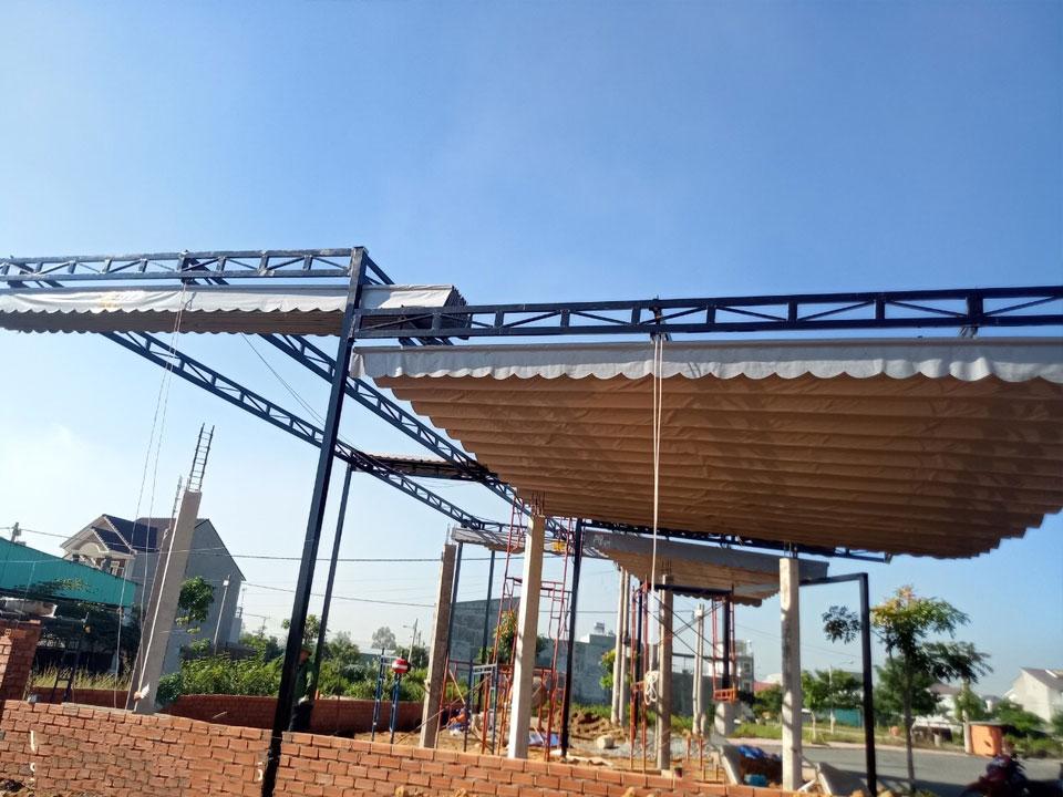 ưu điểm nổi bật khi khách hàng tham gia vào lắp đặt mái bạt kéo di động tại Đà Nẵng