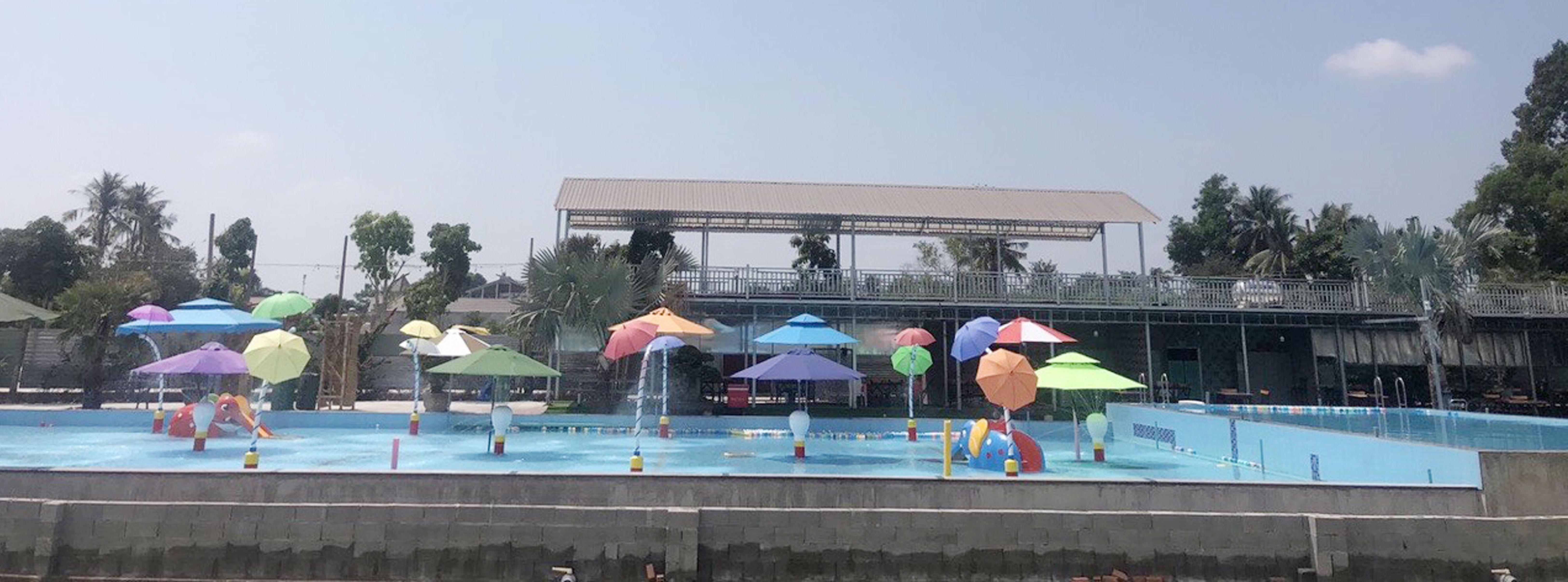 Dù Che Nắng Bãi Hồ Bơi