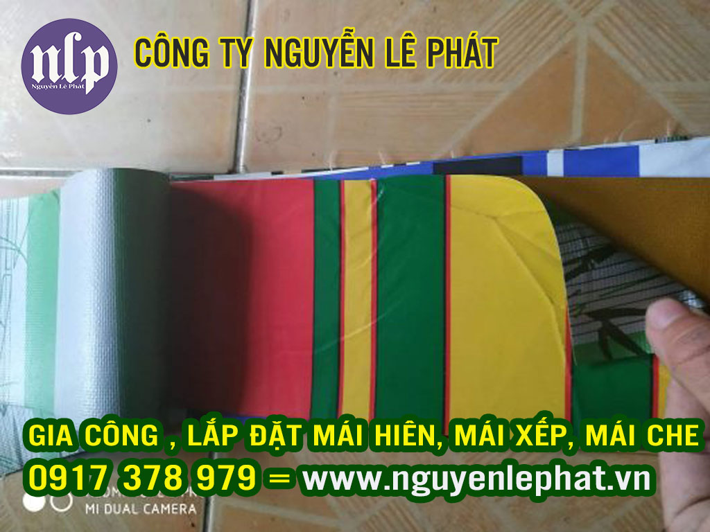 Cung cấp phân phối bán các loại phụ kiện mái che di động tại Bắc Giang