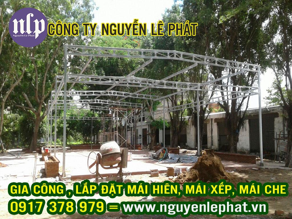 Đơn vị chuyên cung cấp bạt kéo mái hiên mái xếp mái che di động giá rẻ ở Biên Hòa Đồng Nai Hiện nay