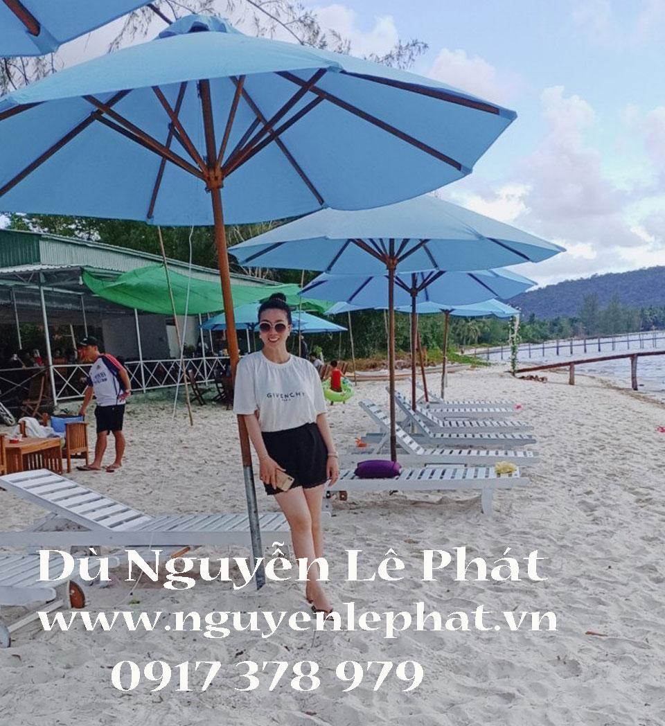 Địa Chỉ Bán Dù Che Nắng Mưa Quán Cafe Quận 9 TPHCM - Dù Lệch Tâm Cà Phê