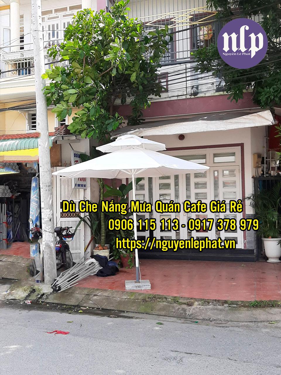 Đại lý bán dù che nắng tại Vũng Tàu - Dù lệch tâm Vũng Tàu Sài Gòn