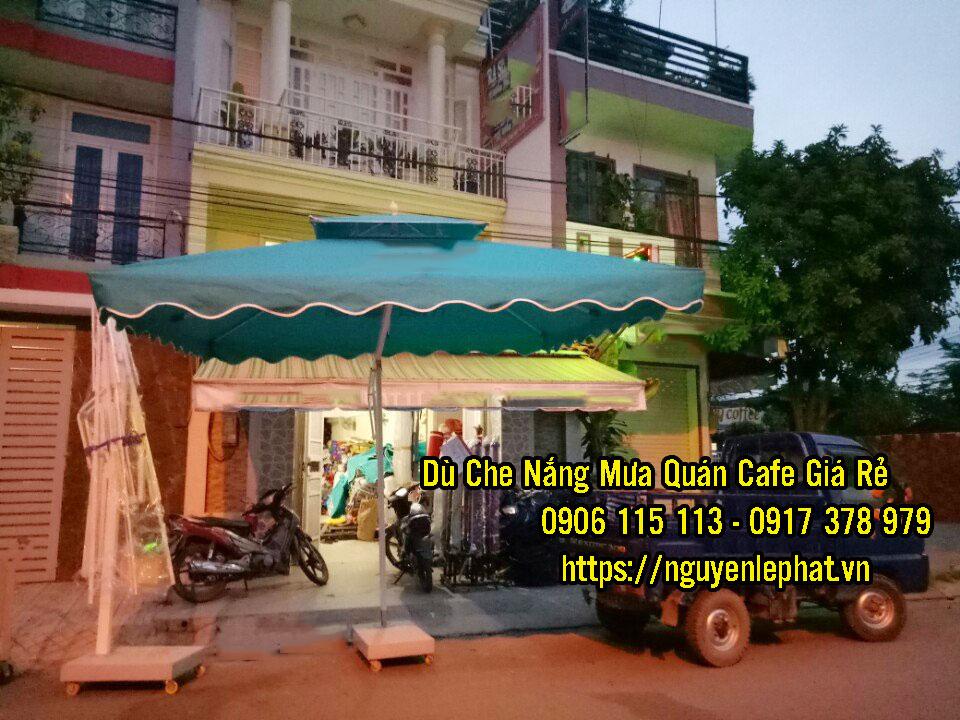 Nơi Bán Dù Che Nắng Quán Cafe tại Tây Ninh Giá Rẻ, Dù Đứng Tâm Cà Phê