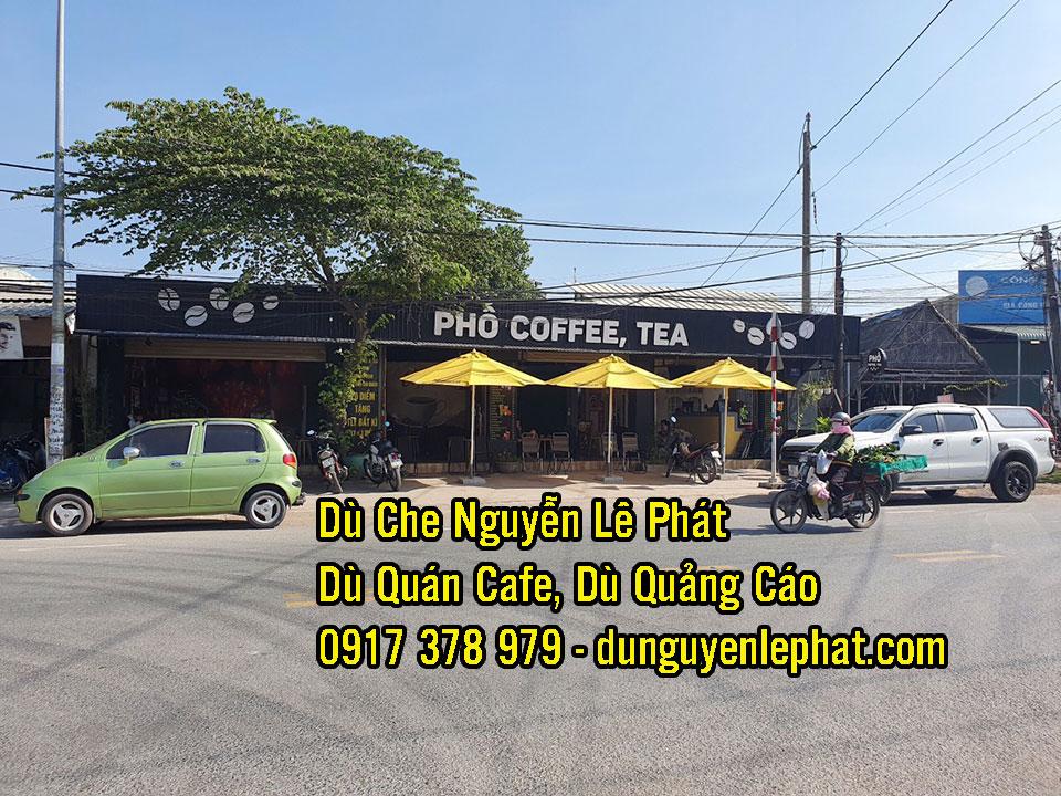 Mẫu dù che nắng quán cafe đẹp năm 2021