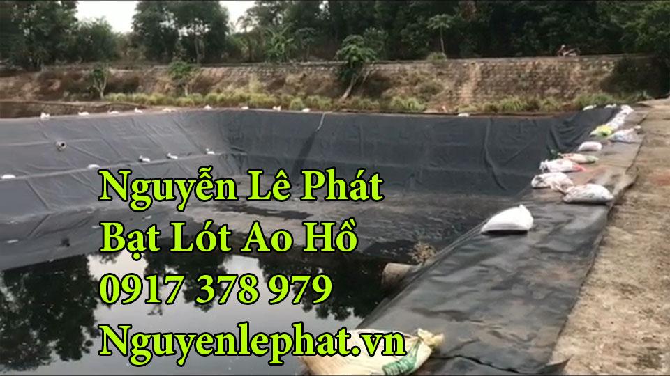 Bạt lót hồ chứa nước Đồng Nai