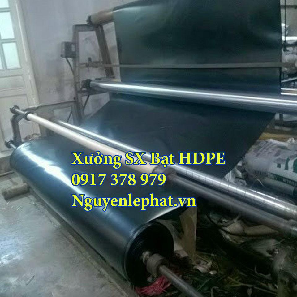 sản xuất bạt nhựa HDPE lót ao hồ tại Cam Ranh