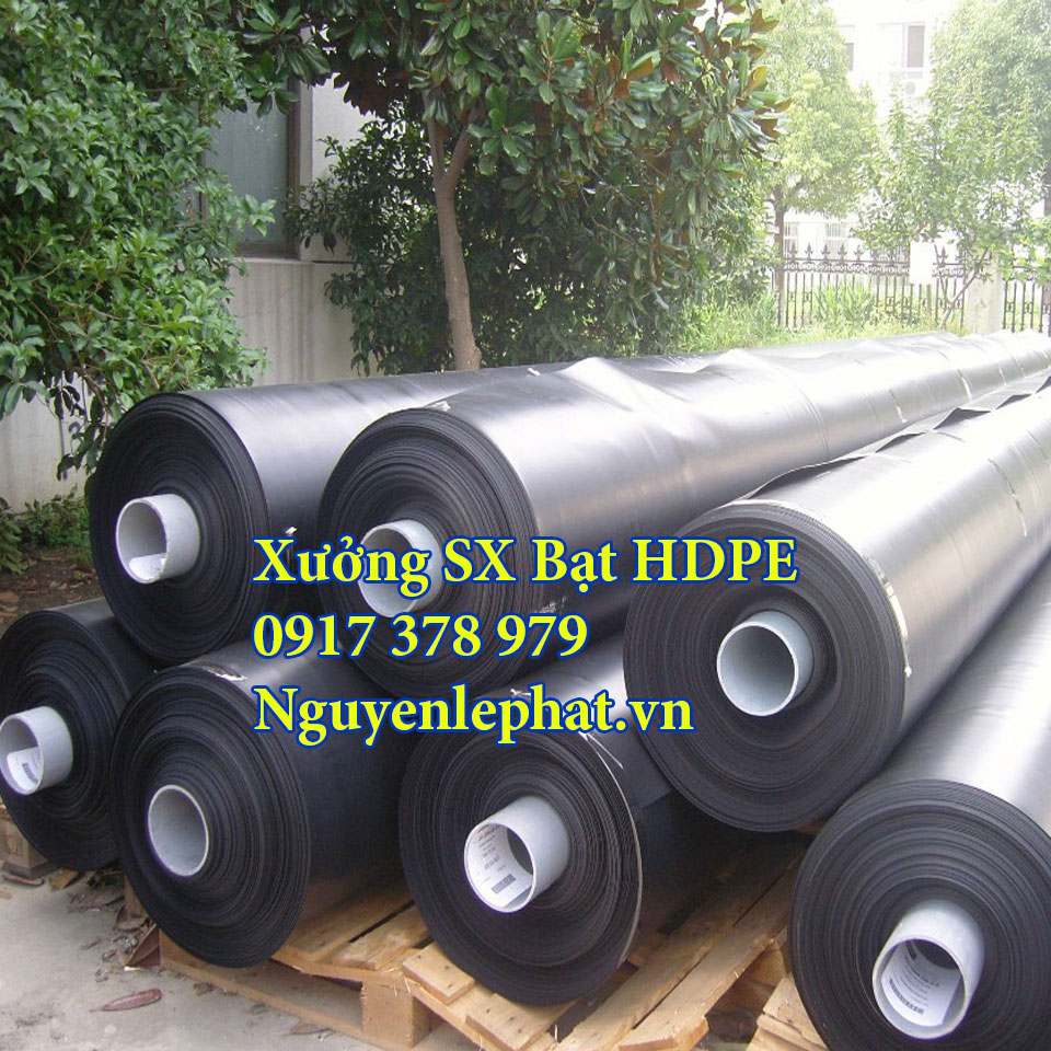 Công ty sản xuất bạt nhựa HDPE lót ao hồ tại Cam Ranh
